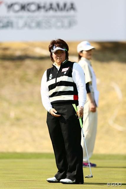 粘りのゴルフでプレーオフ進出を果たしたが、あと一歩で初優勝が果たせなかった