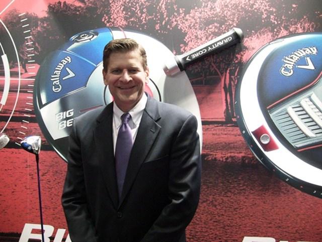 """キャロウェイ/満を持して発表した次世代""""ビッグバーサ""""でシェア拡大の加速を狙う キャロウェイゴルフカンパニー (Callaway Golf Company)社長兼CEO(最高経営責任者)チップ・ブリューワー"""