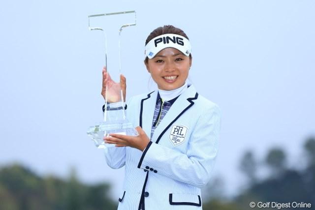 前週の優勝で弾みをつけた一ノ瀬優希が、女子ツアー初開催の地で大会連覇に挑む