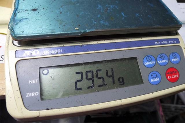 マーク試打 テーラーメイド JET SPEED ドライバー クラブ重量は純正Sで295.4グラムと、幅広いゴルファーをターゲットにしている