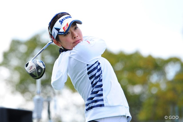 ショットの不安定を嘆きながらも、4位タイの好スタートを切った森田理香子