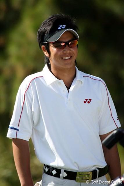 「全英予選の結果は引きずっていません」と笑顔の石川遼