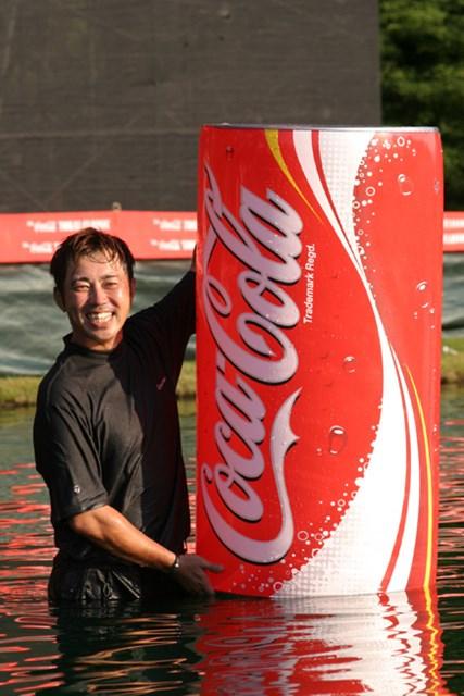 2014年 JGTOプレーヤーズラウンジ 今井克宗 2004年「コカ・コーラ東海クラシック」を制した今井克宗が引退をほのめかす