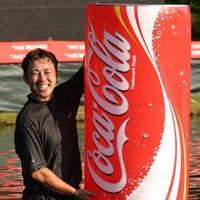 2004年「コカ・コーラ東海クラシック」を制した今井克宗が引退をほのめかす 2014年 JGTOプレーヤーズラウンジ 今井克宗