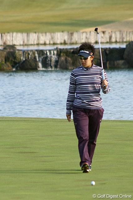 この日「66」で3位に追い上げたが、「もっと出せたと思う」と悔しそうな森桜子