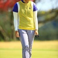 3年ぶりの優勝へ独走かと思われた藤田幸希だったが、土壇場での大逆転劇で惜敗を喫した 2014年 アクサレディス in MIYAZAKI 最終日 藤田幸希