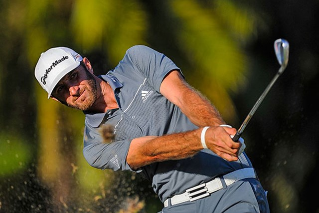 今季出場したストロークプレーの5大会すべてでトップ10入りを果たしているD.ジョンソン(Chris Condon/PGA TOUR)