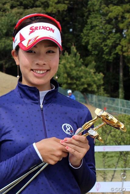 2014年 ヤマハレディースオープン葛城 事前 森田理香子 賞金女王の森田は複数のゴールドパターをゲット!