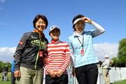 2014年 クラフトナビスコ選手権 事前 小林浩美、横峯さくら・平瀬真由美