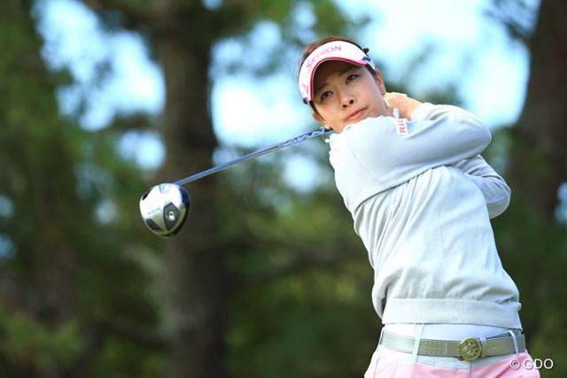 女王・森田理香子が「66」をマークして、単独首位の好スタートを切った