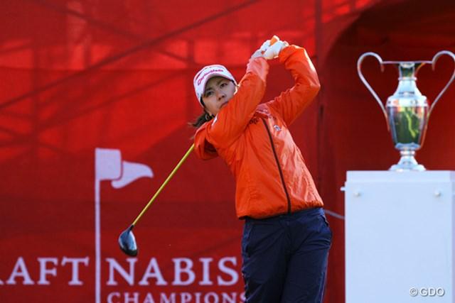 粘りのプレーで18ホールを完走。46位タイは日本勢最上位で終えた宮里美香