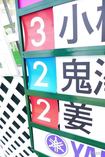 2014年 ヤマハレディースオープン葛城 2日目 キャリングボード 青鬼発見!