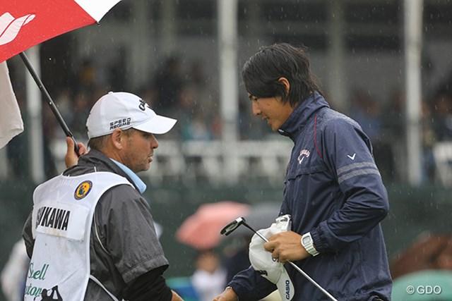 2014年 シェル ヒューストンオープン 最終日 石川遼 シェルヒューストンオープンを戦い終え、マスターズ出場権は掴めなかったが…