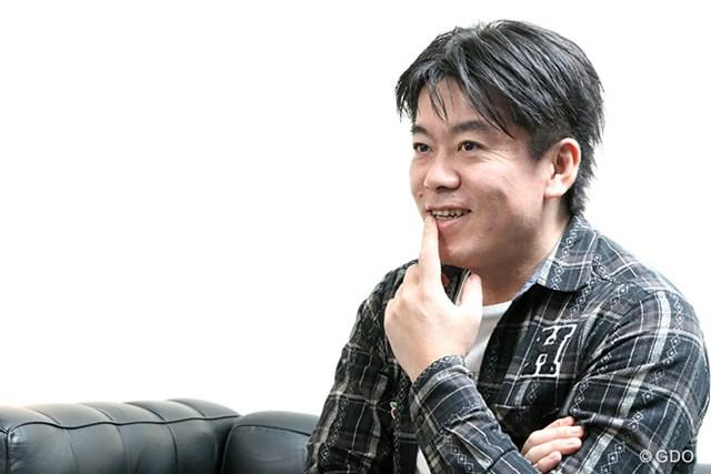 日本ツアーの将来について熱く語る堀江貴文