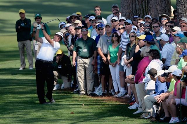 タイガー不在の大会で・・・ミケルソンも予選落ち(Harry How/Getty Images)