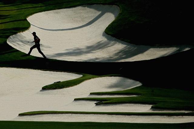 美しきオーガスタ 10番ホールのバンカー(Andrew Redington/Getty Images)