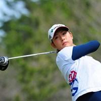 3位から出た山本亜香里はまさかの予選落ち。初の決勝進出を逃した 2014年 スタジオアリス女子オープン 2日目 山本亜香里