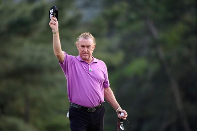 50歳のヒメネスは初制覇こそならなかったが4位(Harry How/Getty Images)
