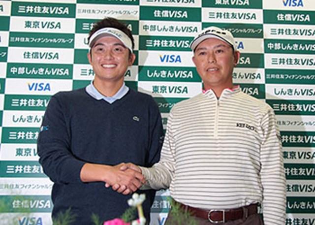 W杯に日本代表として出場する今田竜二(左)と谷口徹。大会3度目のタイトルを日本に持ち帰って欲しい!