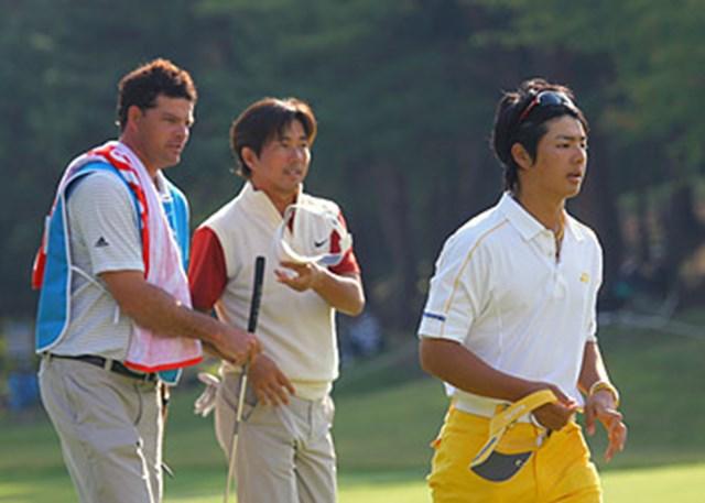 一緒にラウンドした深堀圭一郎に「本当に良い選手」と褒められた石川遼