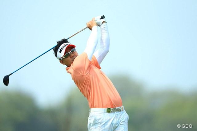 日本ツアー初戦で、いきなりの好発進!ノーボギーのゴルフで4アンダー6位タイです。