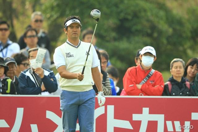 ボギー先行のゴルフでしたが、その後はチャンスを確実に決めるゴルフでスコアを伸ばし、4アンダー6位タイスタート。