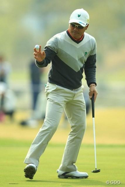 今日は出入りの激しいゴルフで、イーブンパー55位タイスタート。初優勝の感動も記憶に新しいですが、真価が問われる今年の活躍に期待ですね。