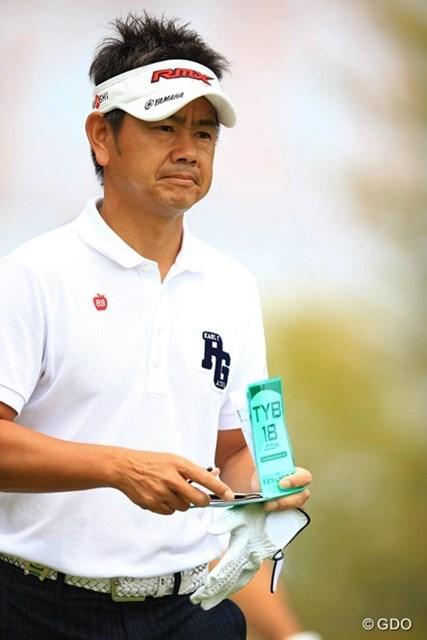 2014年 東建ホームメイトカップ 2日目 藤田寛之 前半はスコア的に全くケアしていませんでしたが、終わってみれば66のナイスラウンド!流石ですねぇ。5アンダー11位タイです。