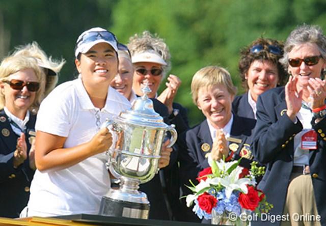 史上5人目となる全米ガールズジュニアと全米女子オープンの2冠を達成したインビー・パーク