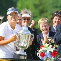 史上5人目となる全米ガールズジュニアと全米女子オープンの2冠を達成したインビー・パーク インビー・パーク