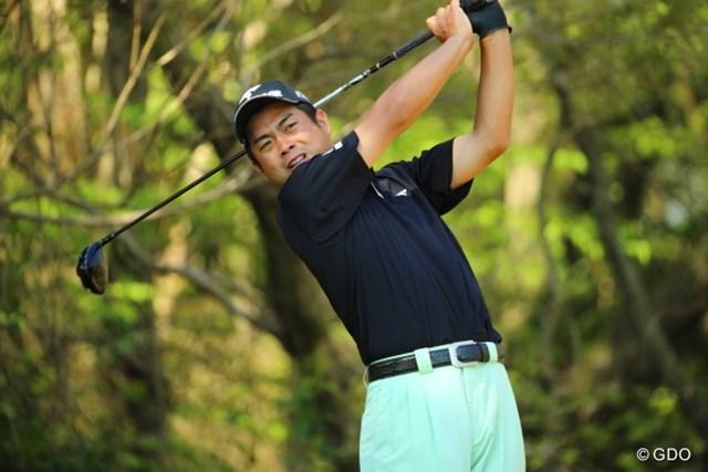2014年 つるやオープンゴルフトーナメント 初日 池田勇太 今季も選手会長を続投する池田勇太は7バーディと気を吐いた