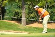 2014年 つるやオープンゴルフトーナメント 初日 甲斐慎太郎