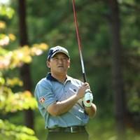 構えたらすぐ打つから好き 2014年 つるやオープンゴルフトーナメント 初日 細川和彦