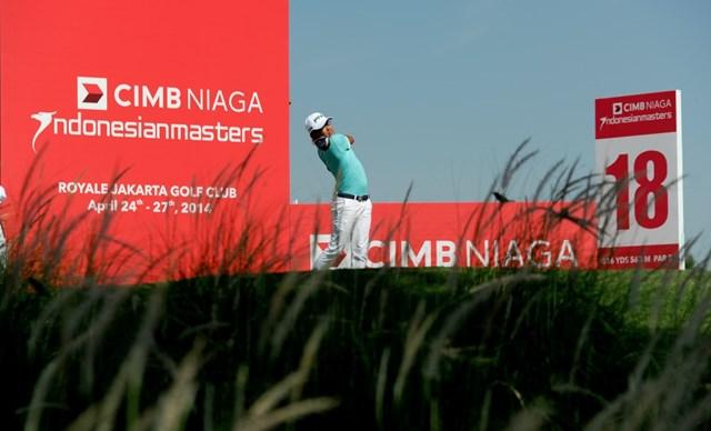 2014年 CIMB ニアガ インドネシアマスターズ 初日 ニコラス・ファン 注目組でラウンドし首位タイスタートをきったニコラス・ファン(写真提供/アジアンツアー)