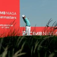 注目組でラウンドし首位タイスタートをきったニコラス・ファン(写真提供/アジアンツアー) 2014年 CIMB ニアガ インドネシアマスターズ 初日 ニコラス・ファン
