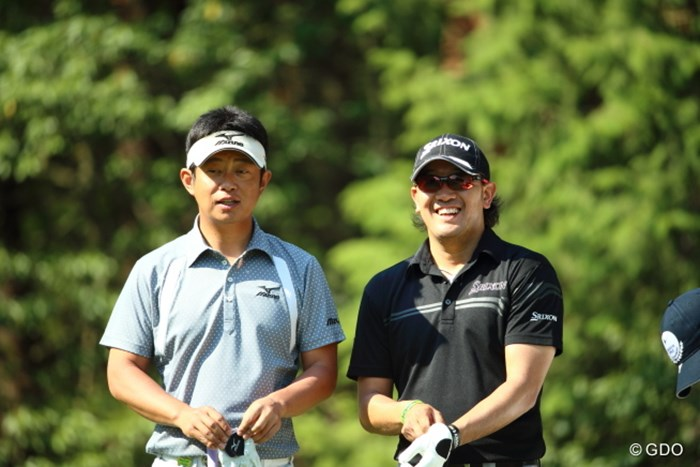 この年代の選手たちにもまた頑張ってほしいね 2014年 つるやオープンゴルフトーナメント 2日目 竹本直哉 田島創志