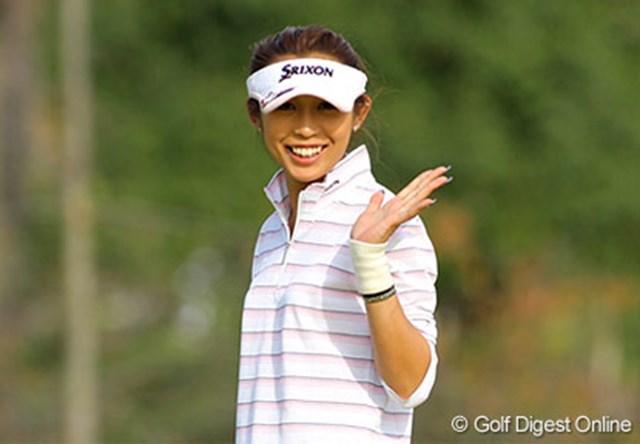 笑顔も戻った金田久美子。個性的なキャラでツアーを賑わして欲しいものだ。