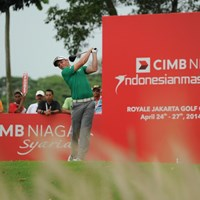 通算14アンダーで単独首位に浮上したキャメロン・スミス(写真提供/アジアンツアー) 2014年 CIMB ニアガ インドネシアマスターズ 3日目 キャメロン・スミス