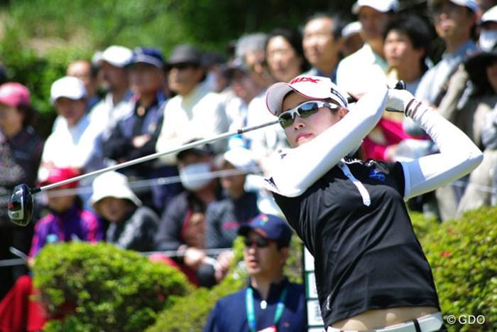 ツアー5年目の園田絵里子が初優勝へ懸命のプレーを見せた 2014年 フジサンケイレディスクラシック 最終日 園田絵里子