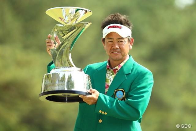 2010年、12年に続き、2年周期の男・藤田寛之が3度目の大会制覇を果たした
