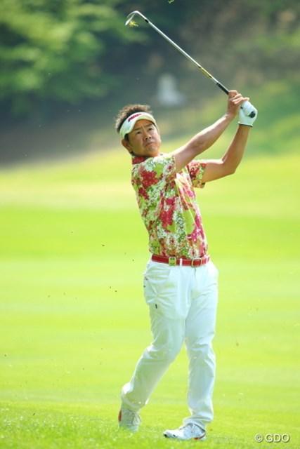 2014年 つるやオープンゴルフトーナメント 最終日 藤田寛之 藤田は終盤の大混戦をかいくぐって大会3勝目を挙げた