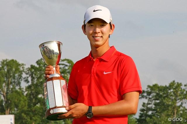 韓国人選手では4人目の米ツアー勝者となったノ・スンヨル