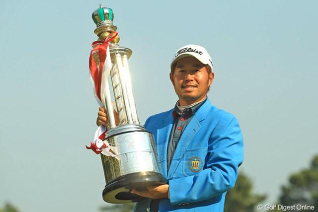 昨年は松村道央が逆転勝利!2010年「カシオワールドオープン」以来となるツアー通算3勝目を飾った