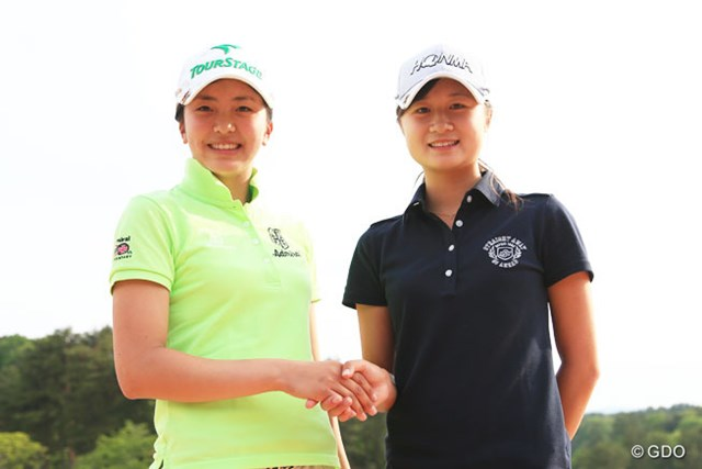 日本女子アマの決勝ではなく・・・国内女子ツアーの最終日を2人のアマチュアが首位で迎える