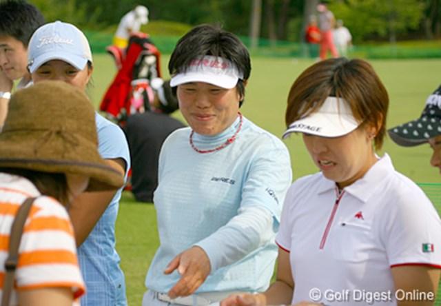 「調子がいいと、まだまだゴルフをやりたくなっちゃう!」と話す高。やっぱりゴルフが大好きなのだ。