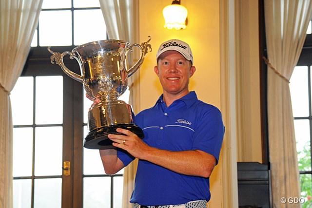 2014年 関西オープンゴルフ選手権競技 事前情報 ブラッド・ケネディ 前年覇者はB.ケネディ。最終日が中止になった54ホールの短期決戦を制した