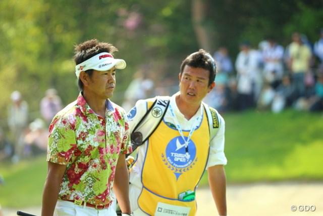 今季1勝目を果たしたコンビで5年ぶりの大会制覇を狙う藤田寛之