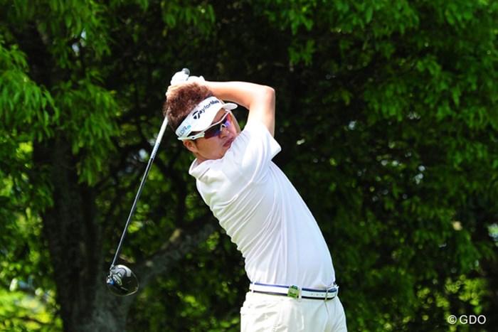 6バーディ、ノーボギーの「66」で単独首位の好スタートを切った白佳和 2014年 関西オープンゴルフ選手権競技 初日 白佳和