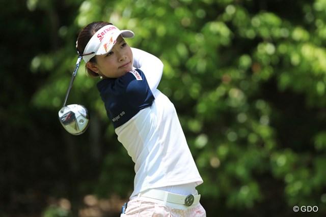 連覇を狙う森田理香子が4アンダー首位タイの好スタート