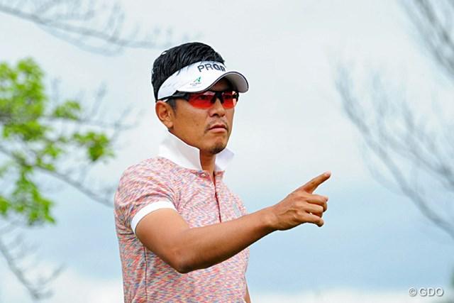 2014年 関西オープンゴルフ選手権競技 2日目 矢野東 新婚・矢野東。内助の功を力に変えるシーズンが始まった